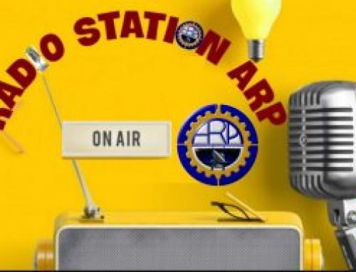 RADIO STATION ARP  «With languages you are at home anywhere «by Edmund the Woal